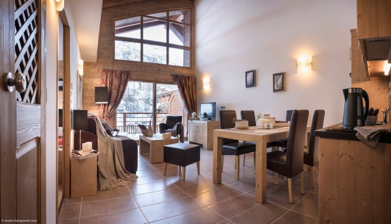Tignes Location Appartement Luxe Micatis Salon