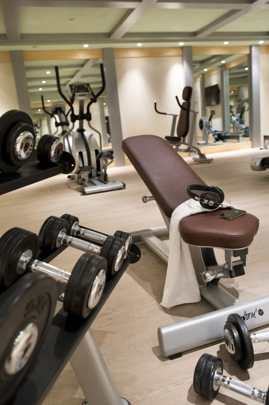 Tignes Location Appartement Luxe Nadurine Salle De Fitness