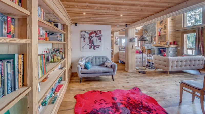 Tignes Location Chalet Luxe Agrezate Salon1