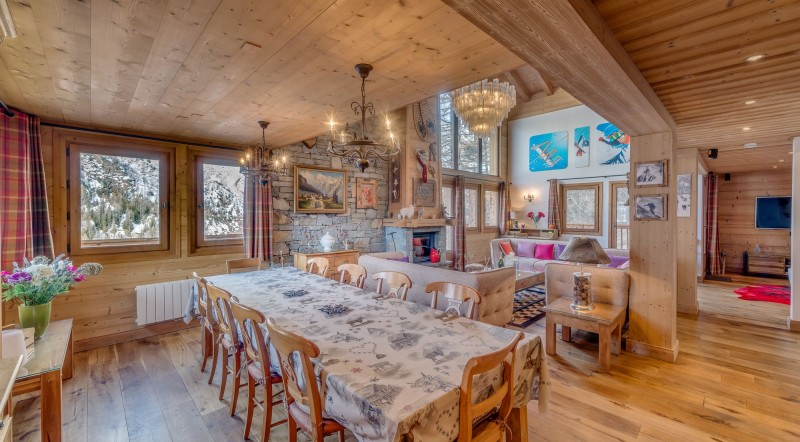 Tignes Location Chalet Luxe Agrezate Table A Manger