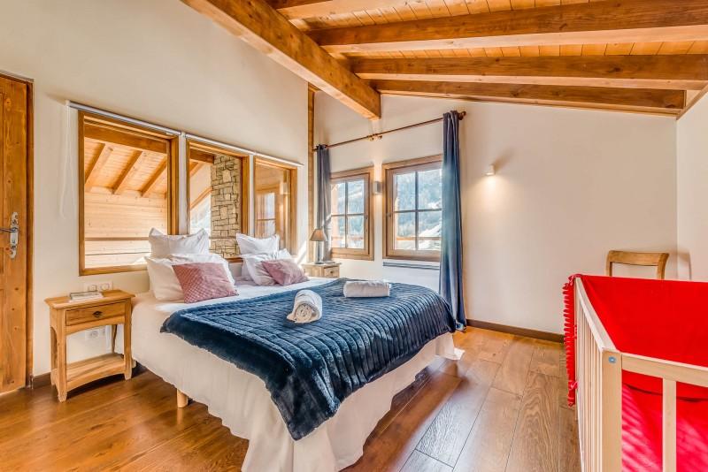Tignes Luxury Rental Chalet Exokate Bedroom