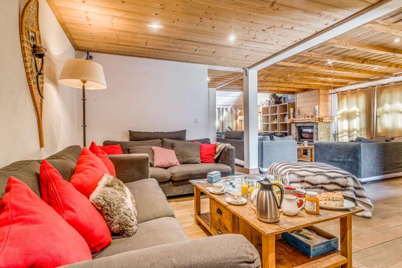 Tignes Luxury Rental Chalet Exokate Living Room 4