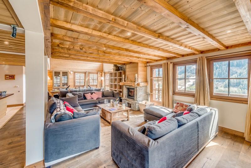 Tignes Luxury Rental Chalet Exokate Living Room 5