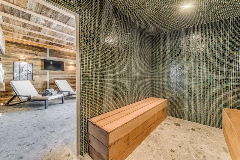 Tignes Location Chalet Luxe Tankite Sauna2