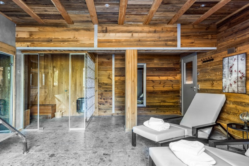 Tignes Location Chalet Luxe Tankite Sauna3
