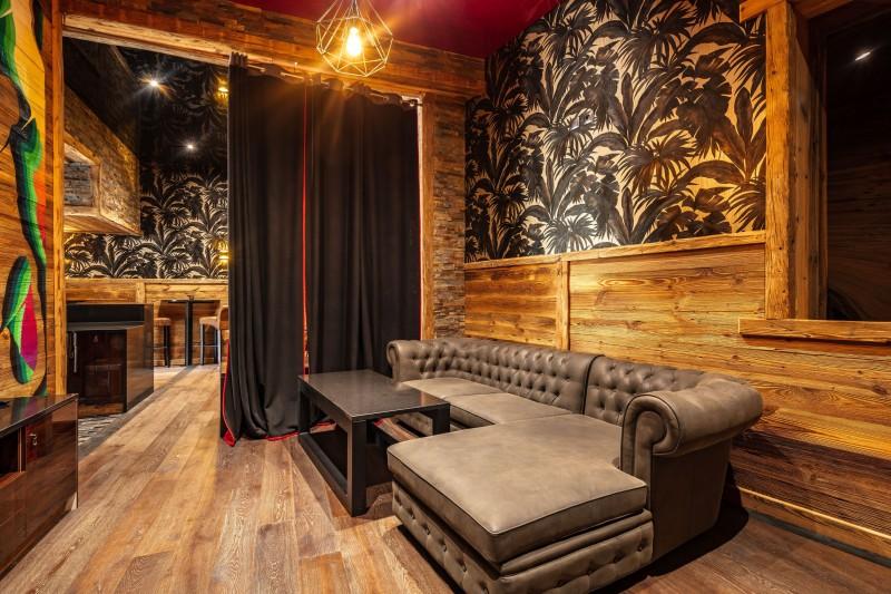 Tignes Location Chalet Luxe Tanzonite Salon