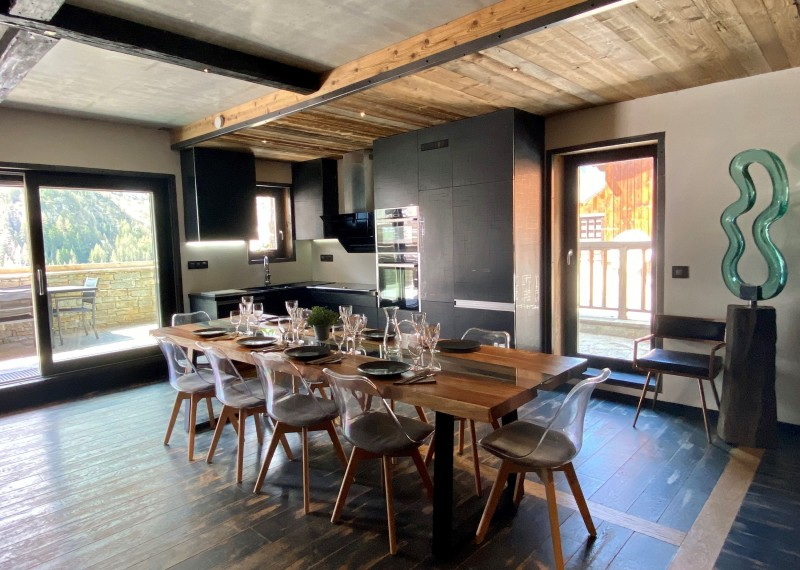 Tignes Location Chalet Luxe Tavanite Cuisine1