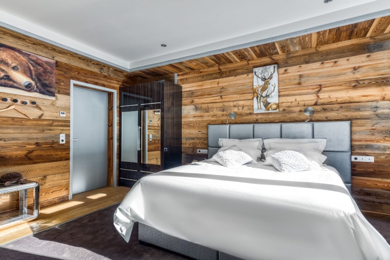 Tignes Location Chalet Luxe Turquoize Chambre2