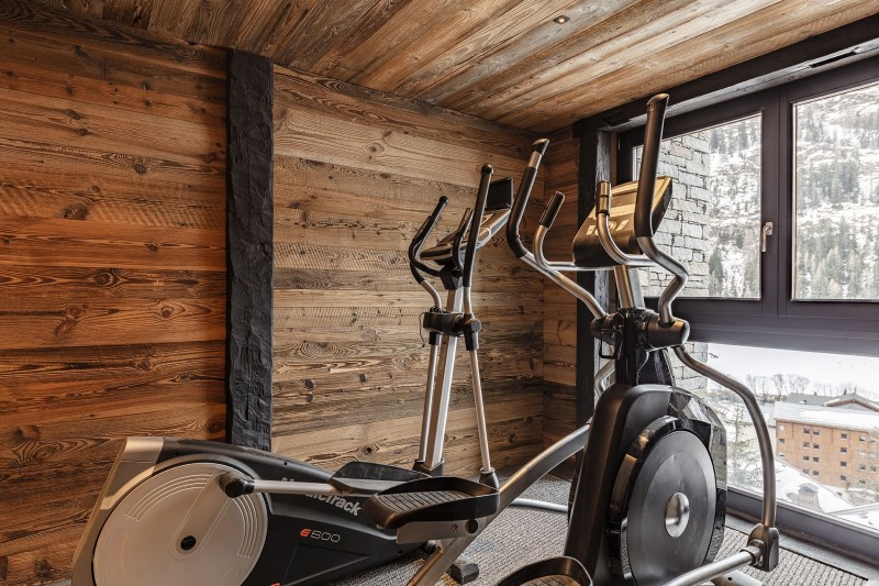 Tignes Location Chalet Luxe Turquoize Espace Fitness