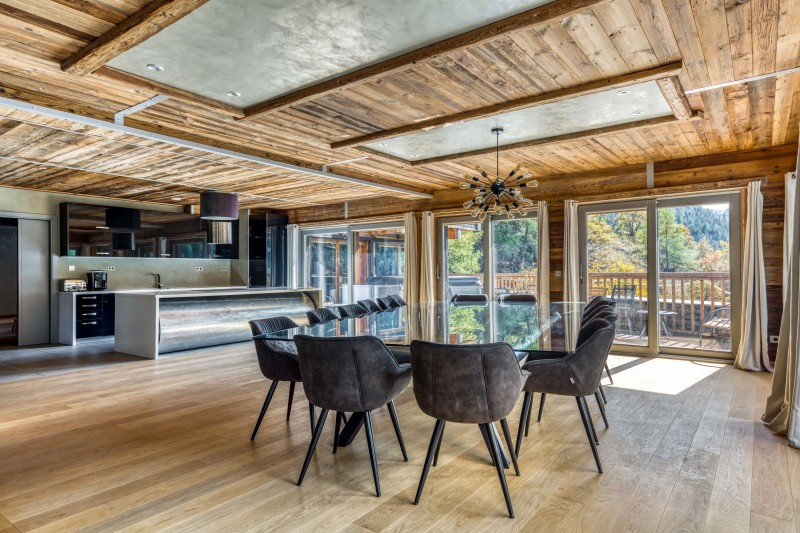 Tignes Location Chalet Luxe Turquoize Salle A Manger