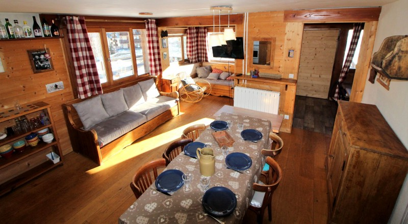 Tignes Location Chalet Luxe Valakite Salle A Manger
