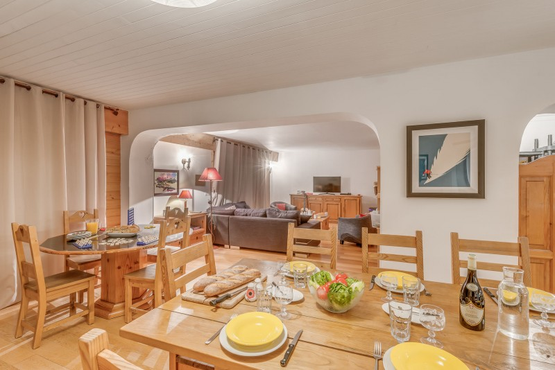 Tignes Location Chalet Luxe Valumarite Table A Manger