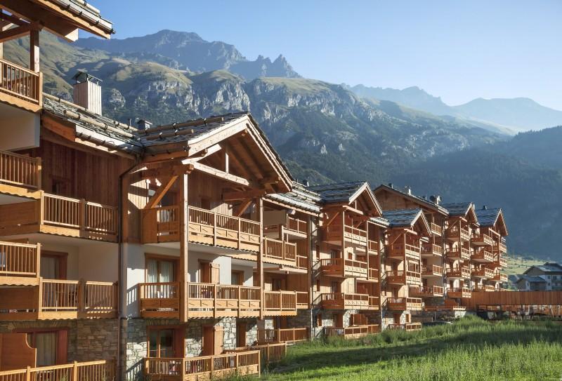Val Cenis Location Appartement Luxe Verre Opalin Extérieur 4