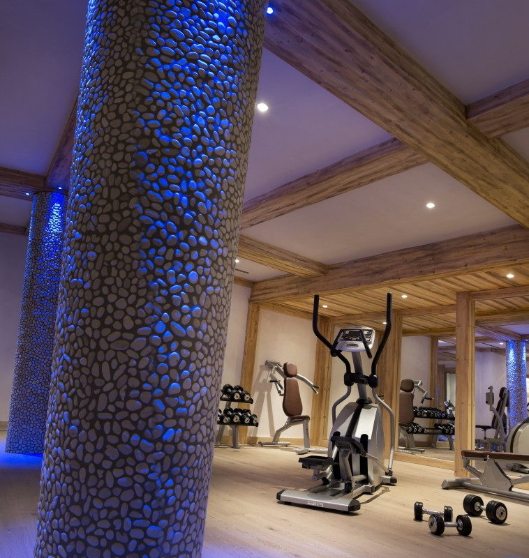 Val Cenis Location Appartement Luxe Verre Opalin Salle De Fitness