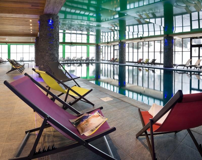 Val Cenis Location Appartement Dans Résidence Luxe Verre Saphir Duplex Piscine 1