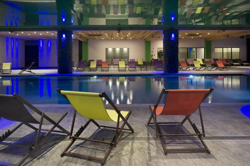 Val Cenis Location Appartement Dans Résidence Luxe Verre Saphir Duplex Piscine