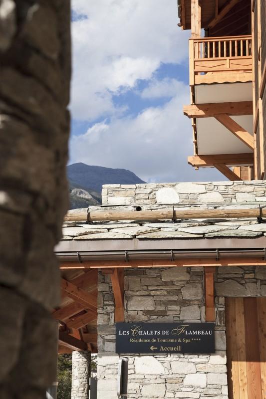 Val Cenis Location Appartement Luxe Verre Saphir Extérieur Façade