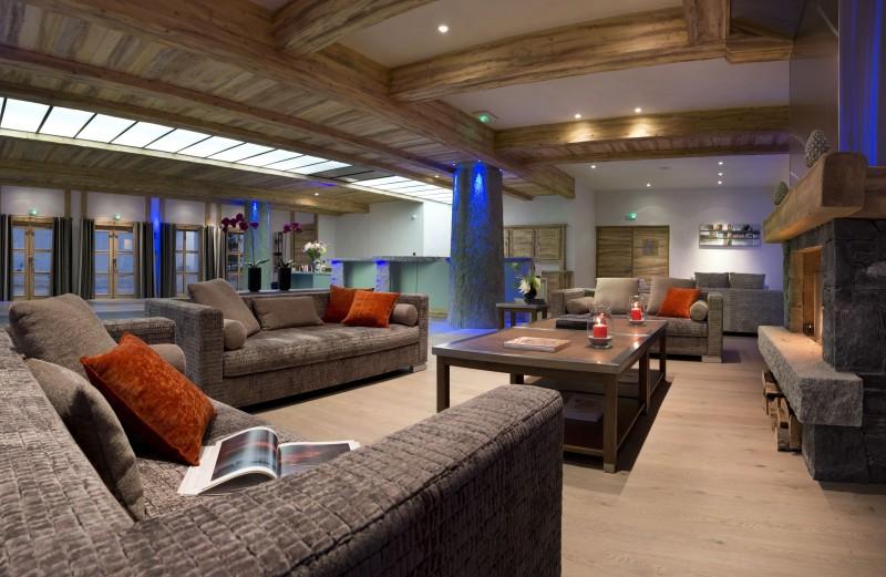 Val Cenis Location Appartement Luxe Verre Saphir Réception
