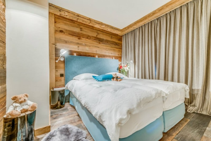 Val d'Isère Location Appartement Dans Résidence Luxe Solena Chambre 4