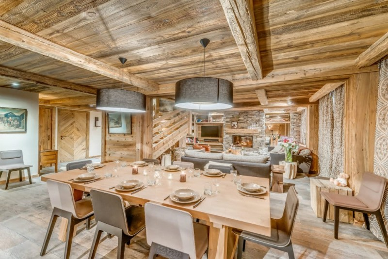 Val d'Isère Location Appartement Dans Résidence Luxe Solena Séjour