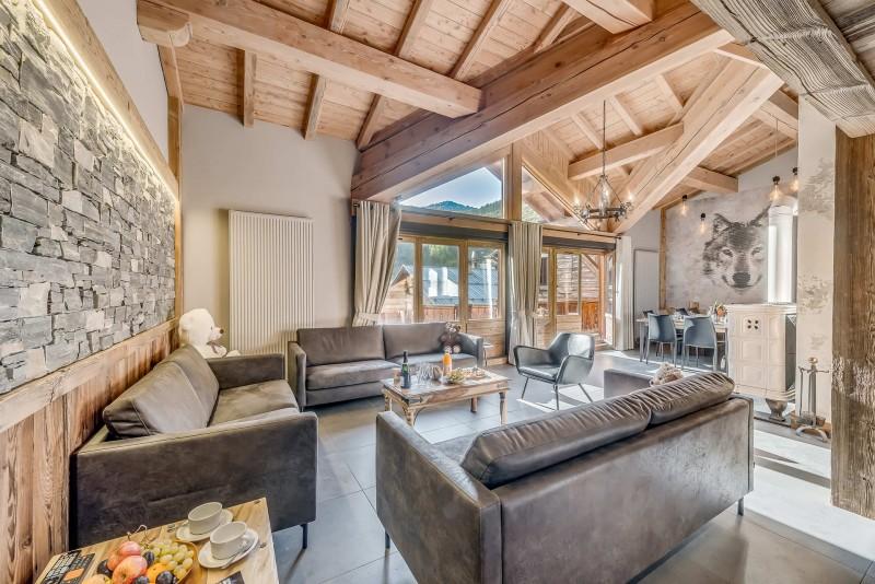 Val d'Isère Location Appartement Luxe Cranzate Séjour