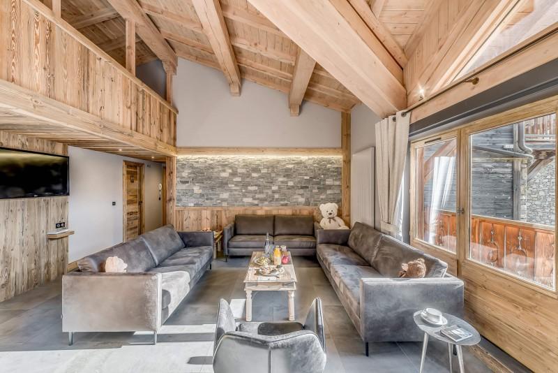 Val d'Isère Location Appartement Luxe Cranzate Séjour1