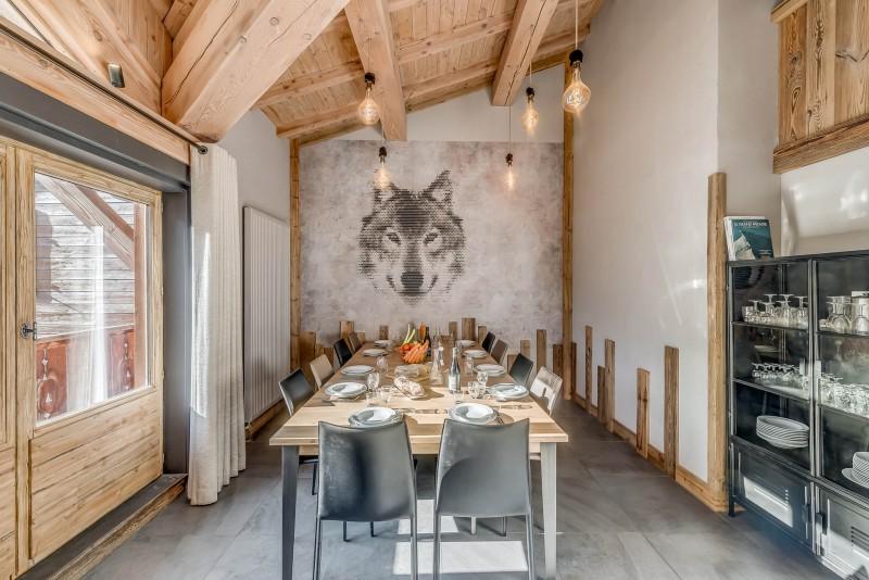 Val d'Isère Location Appartement Luxe Cranzate Table A Manger