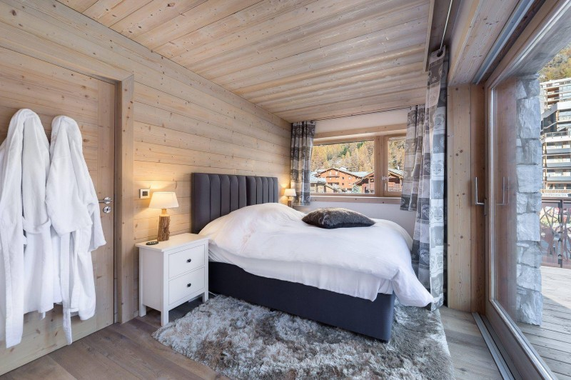 Val d'Isère Luxury Rental Appartment Cybali Bedroom 2
