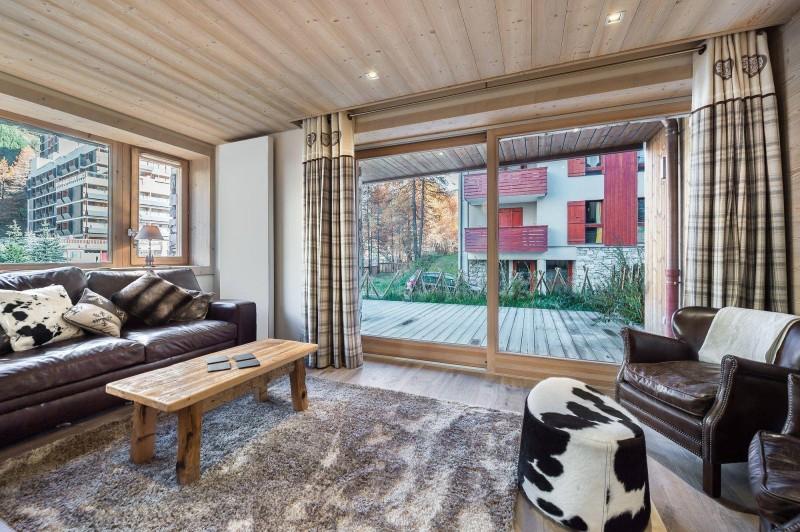 Val d'Isère Location Appartement Luxe Cybali Séjour
