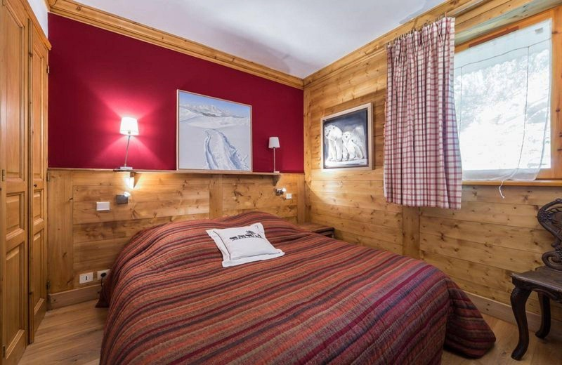 Val d'Isère Location Appartement Luxe Danay Chambre