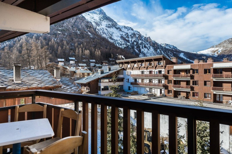Val d'Isère Location Appartement Luxe Disneye Balcon