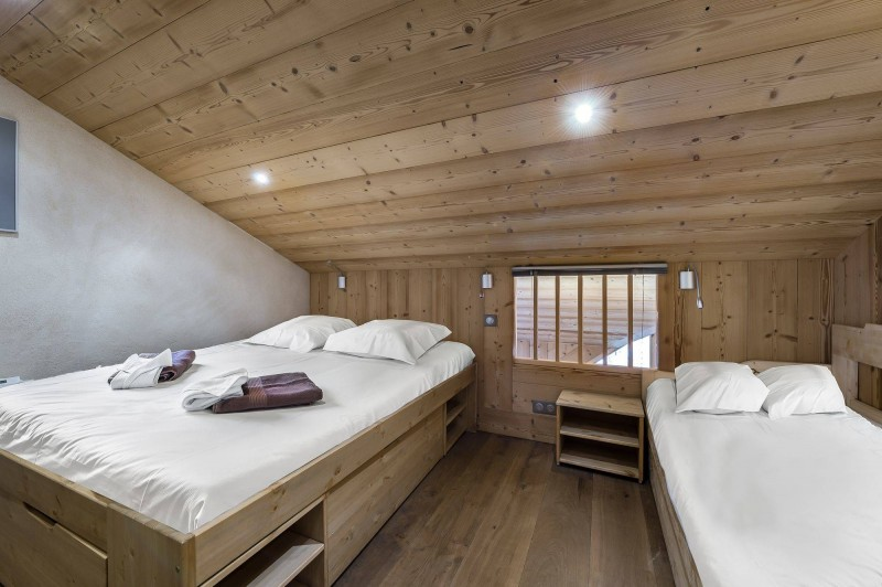 Val d'Isère Location Appartement Luxe Disneye Chambre 2