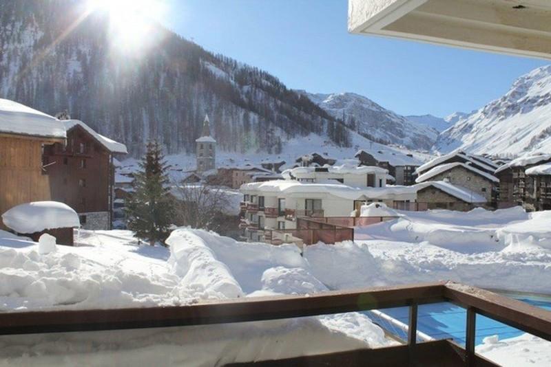 Val d'Isère Location Appartement Luxe Jadenois Balcon