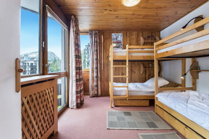 Val d'Isère Location Appartement Luxe Jadenois Chambre