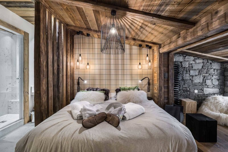 Val d'Isère Location Appartement Luxe Tapiza Chambre 2