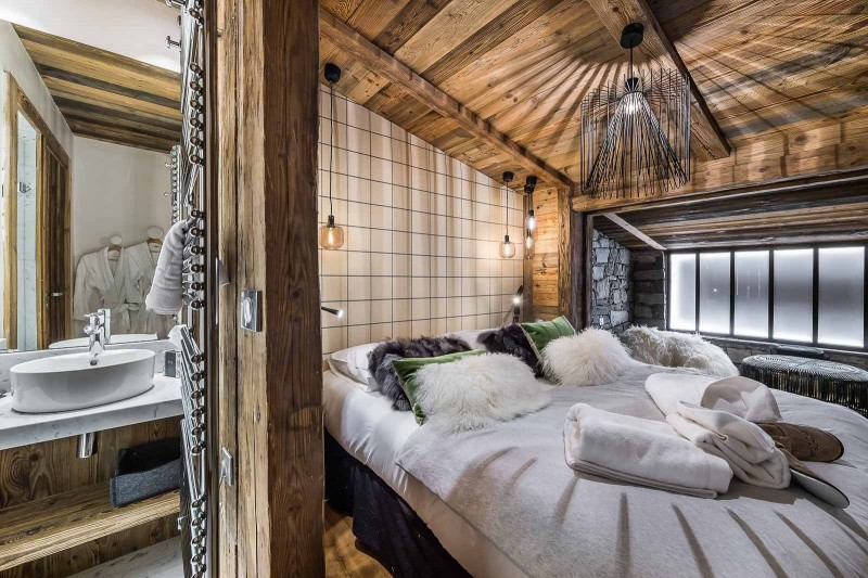 Val d'Isère Location Appartement Luxe Tapiza Chambre 4