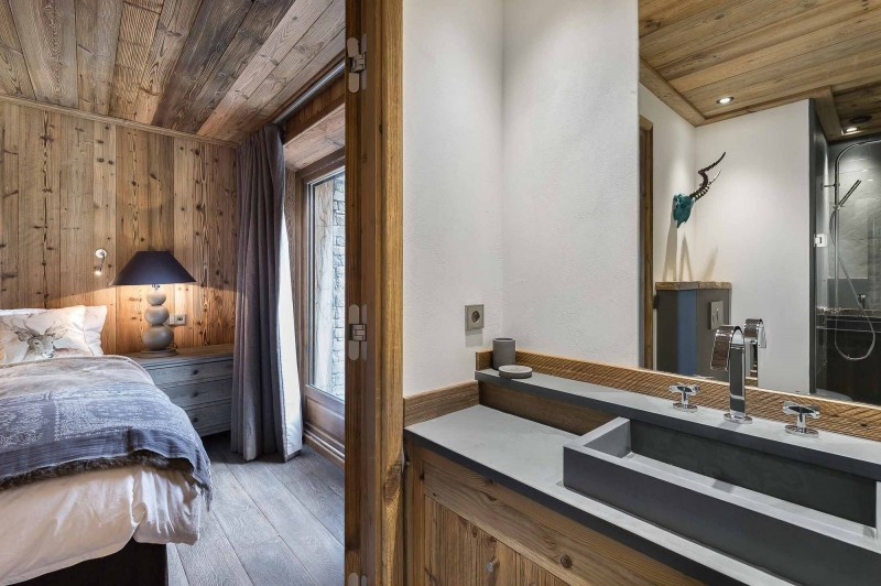 Val d'Isère Location Appartement Luxe Ulilite Chambre