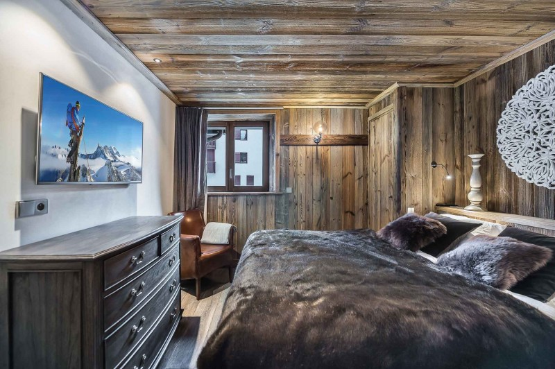 Val d'Isère Location Appartement Luxe Ulilite Chambre 3