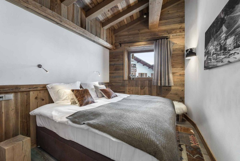 Val d'Isère Location Appartement Luxe Ulolite Chambre