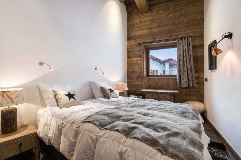 Val d'Isère Location Appartement Luxe Ulolite Chambre 2