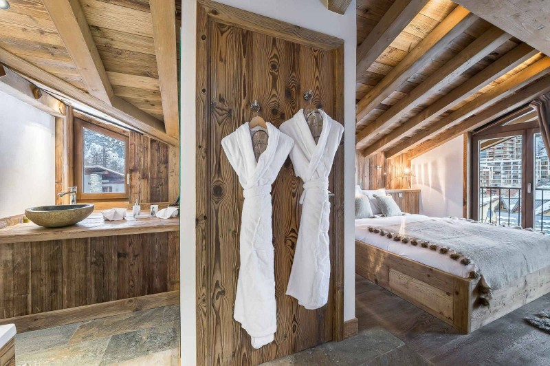 Val d'Isère Location Appartement Luxe Ulolite Chambre 4