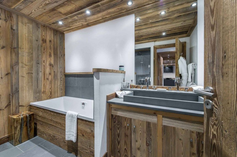 Val d'Isère Luxury Rental Appartment Ulolite Bathroom