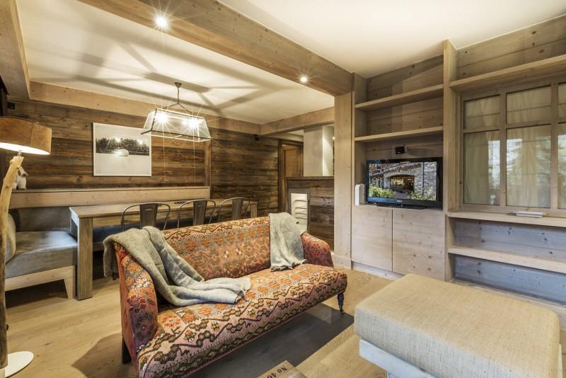 Val d'Isère Luxury Rental Apartment Vadakite Living Area 3