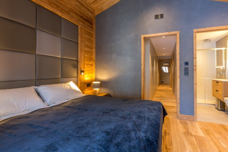 Val d'Isère Location Appartement Luxe Valerine Chambre