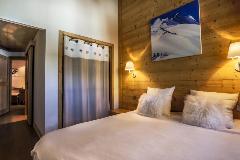 Val d'Isère Luxury Rental Apartment Vanalite Bedroom 2
