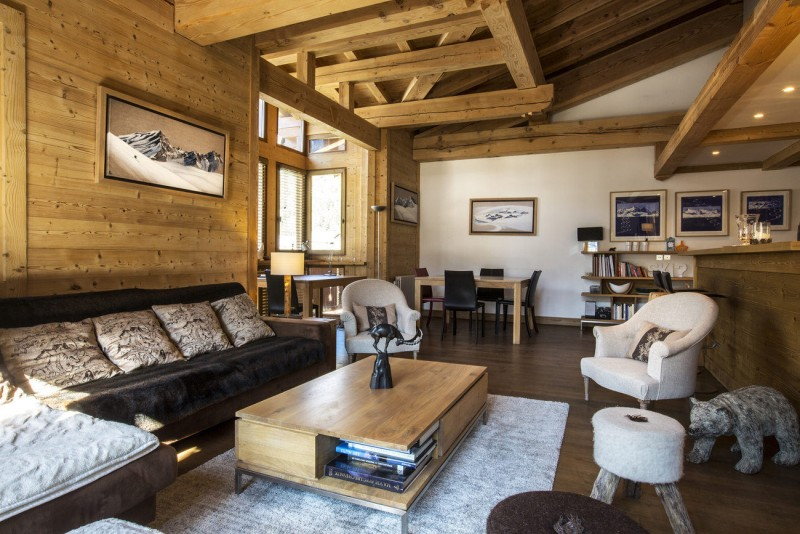 Val d'Isère Luxury Rental Apartment Vanalite Living Area 2