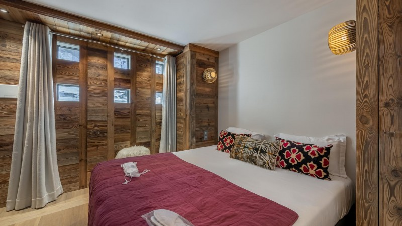 Val d'Isère Location Appartement Luxe Varmate Chambre1