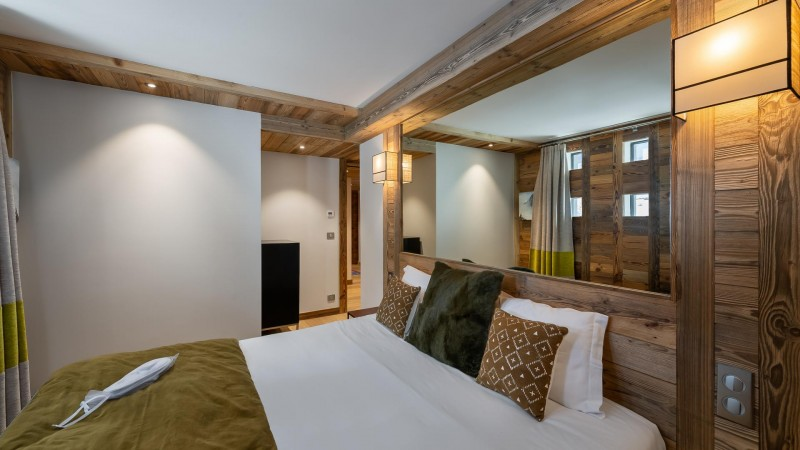 Val d'Isère Location Appartement Luxe Varmate Chambre3