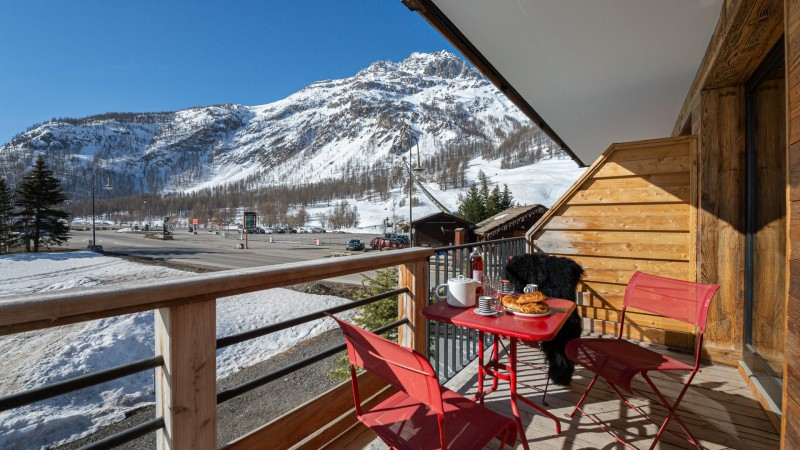 Val d'Isère Location Appartement Luxe Varmate Terrasse