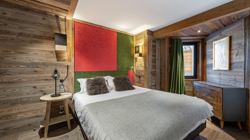 Val d'Isère Location Appartement Luxe Varnite Chambre1